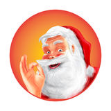 Santa Claus premii ilość Ilustracji