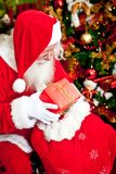 Santa Claus with presents Royalty Free Stock Photos