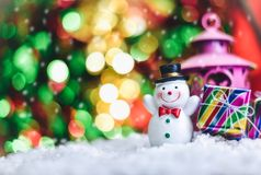 Santa Claus presents a happy holiday atmosphere. Santa Claus presents a happy holiday atmosphere Stock Photos