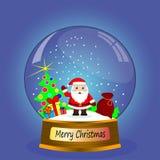 Santa claus prezenty Fotografia Royalty Free