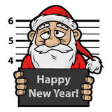 Santa Claus prisoner Stock Photo
