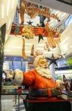 Santa Claus. In Promenada Shopping Mall Bucharest Romania Stock Photography