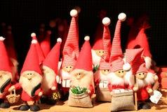Santa Claus-Puppe Stockbilder