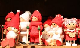 Santa Claus-Puppe Stockfoto