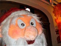 Santa Claus-Puppe in der natürlichen Größe stockbild