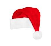 Santa Claus röd julhatt Royaltyfria Foton