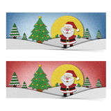 Santa claus recycled papercraft . Royalty Free Stock Photos