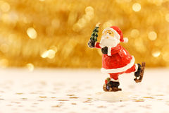Santa Claus in red Royalty Free Stock Photo