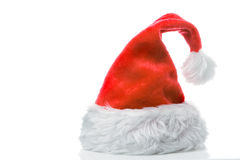 Santa claus red cap Royalty Free Stock Photos