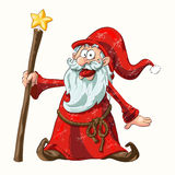 Santa Claus in red Royalty Free Stock Images