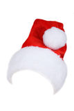 Santa Claus red hat isolated on white. Stock Photography