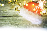 Santa Claus red hat. New Year. Santa Claus red hat. Christmas background Royalty Free Stock Image