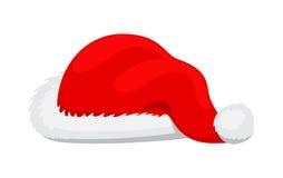 Santa Claus Red Hat Realistic Illustration simple Image libre de droits