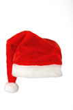 Santa claus red hat on white background Stock Photos