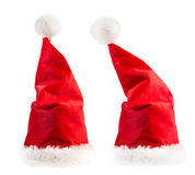 Santa Claus red hats Stock Photos