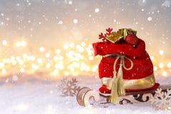 Free Santa Claus Red Sack Stock Photos - 164330173