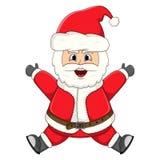 Santa claus for christmas cartoon Stock Photography