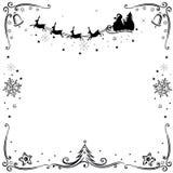 Santa claus, reindeer Royalty Free Stock Photo