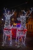 Santa Claus ren Royaltyfria Bilder