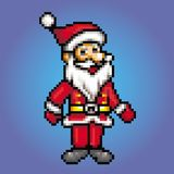 Santa claus retro 8 bit - pixel art style illustration. Santa claus retro 8 bit - pixel art style vector illustration vector illustration