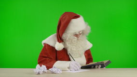 Santa Claus is Running Out of Ideas stock footage