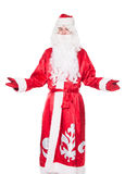 Santa Claus, Russian Ded Moroz. Isolated on white background Royalty Free Stock Photos