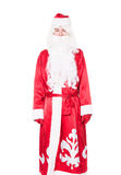 Santa Claus, Russian Ded Moroz. Isolated on white background Stock Photography