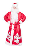 Santa Claus, russian Ded Moroz, isolated on white background Stock Photo