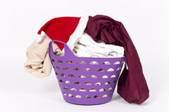 Santa claus's laundry Royalty Free Stock Image