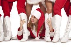Santa claus`s  party Royalty Free Stock Photos