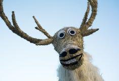 Santa Claus`s reindeer Royalty Free Stock Image