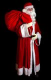 Santa Claus with a sac Royalty Free Stock Images