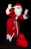 Santa Claus with a sac Royalty Free Stock Photos