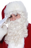 Santa Claus saluting Royalty Free Stock Image
