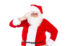 Santa Claus saying that you was not nice. Santa Claus saying to you that you was not nice Stock Images