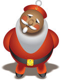 Santa Claus of the sea. Santa Claus sea wolf. For websites and books Stock Photo