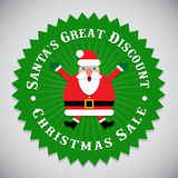 Santa Claus Seal Photo libre de droits