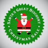 Santa Claus Seal Royalty Free Stock Photo