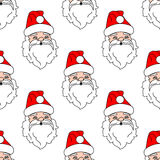 Santa Claus seamless pattern Royalty Free Stock Photos