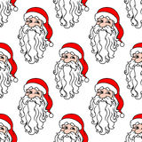 Santa Claus seamless pattern for Royalty Free Stock Photo