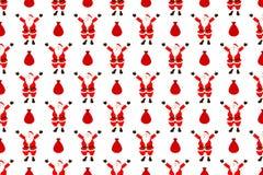 Santa claus seamless pattern Stock Photo