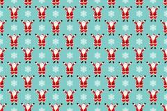 Santa claus seamless pattern Stock Images