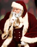 Santa Claus Secret Royalty Free Stock Photos