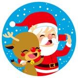 Santa Claus Selfie Stock Photo