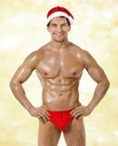 Santa Claus sexy Photographie stock libre de droits