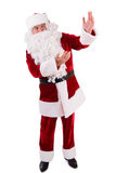 Santa Claus shows gesture Royalty Free Stock Photo