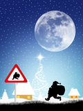 Santa Claus sign Stock Photography