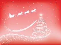 Santa Claus sleigh Stock Photo