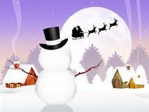 Santa Claus sleigh Royalty Free Stock Photography