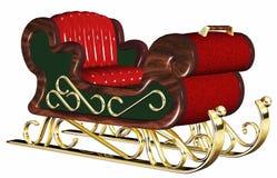 Santa Claus sleigh Stock Image